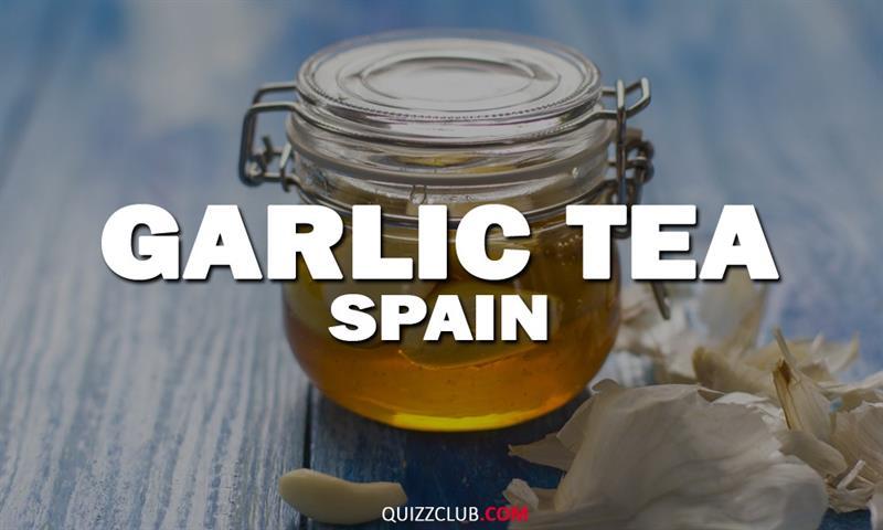 Geography Story: Garlic tea (Spain)