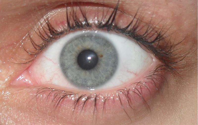 color Story: Gray eyed people are intellectually inquisitive. Besides, it's a lucky eye color.