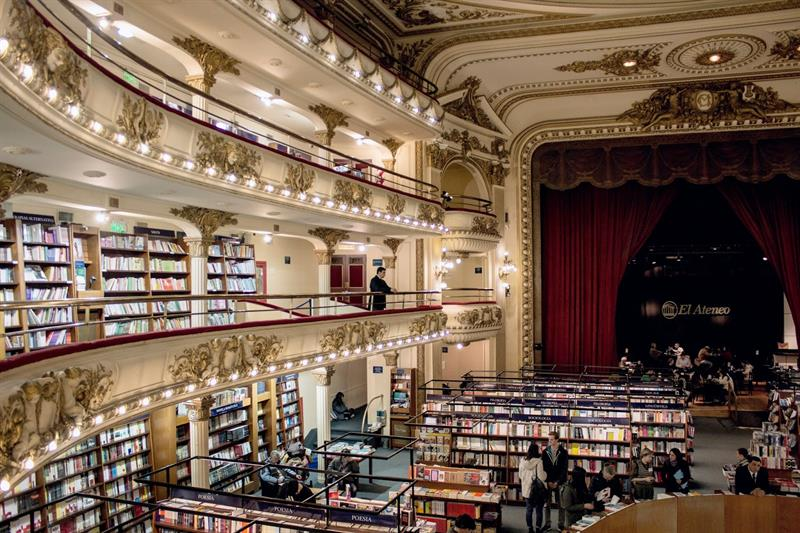 literature Story: The theater opened in 1919 and could accommodate 1050 spectators.