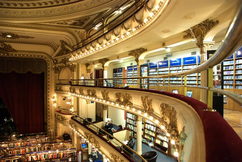 literature Story: You won't believe this 100-year-old massive theater is now a popular bookstore