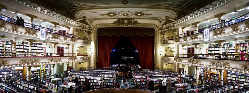 literature Story: In 2008, The Guardian placed El Ateneo Grand Splendid as the second most beautiful bookstore in the world.
