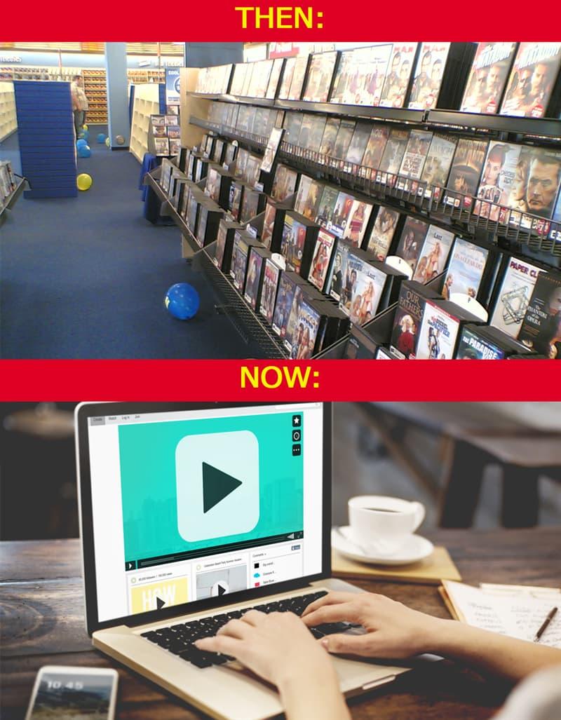 History Story: #6 We no longer need video rental shops