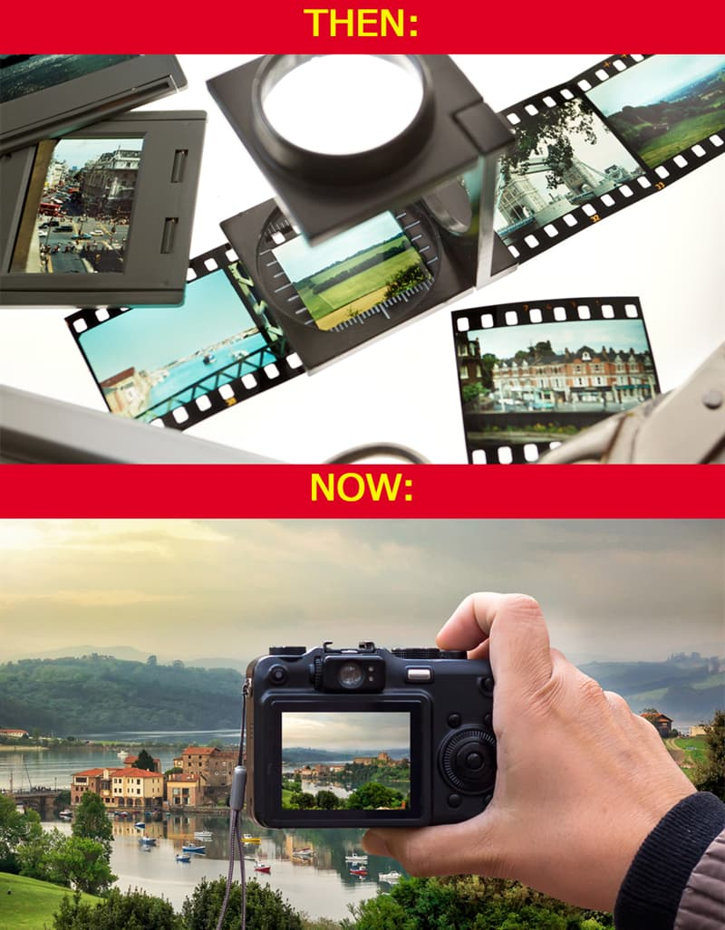History Story: #7 Film photography is gone