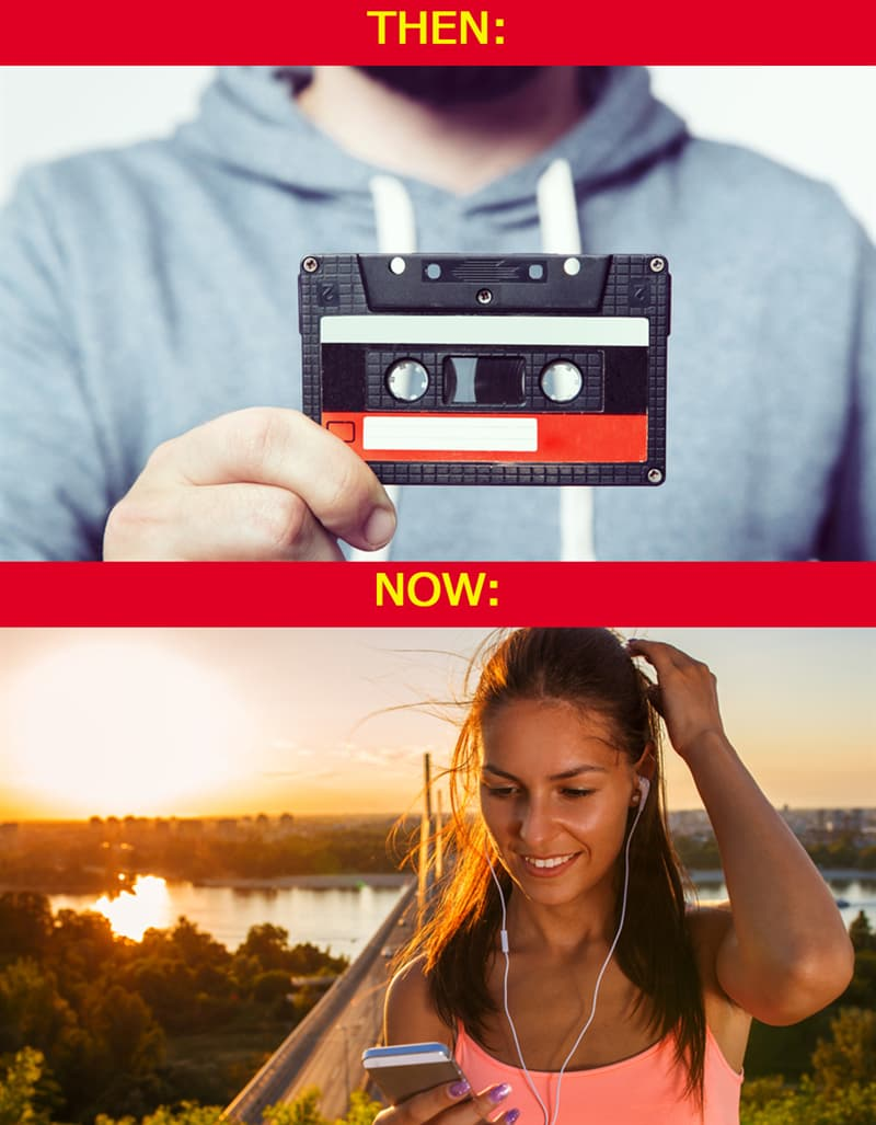 History Story: #9 Today we can share music online by a single click
