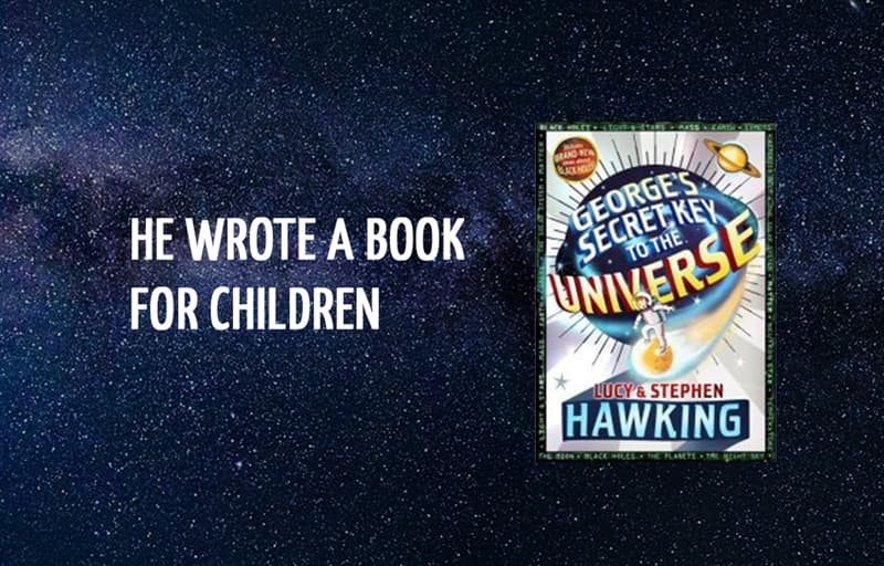 Science Story: He wrote a book for children