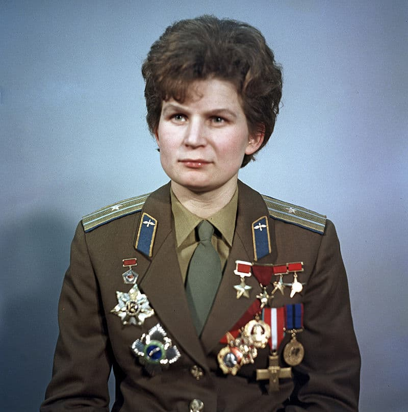 History Story: #10 Valentina Tereshkova, the first woman in history to fly to space (Vostok 6 mission, 1963)