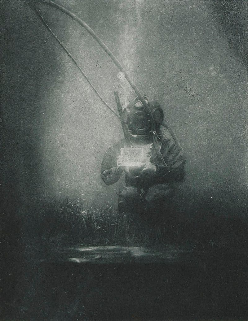 History Story: #2 The first photograph taken underwater (Louis Boutan, 1899)