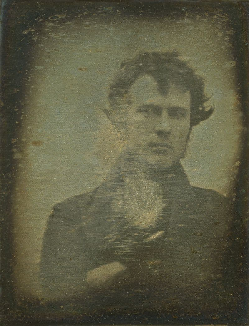 History Story: #5 The first selfie in history taken in 1839