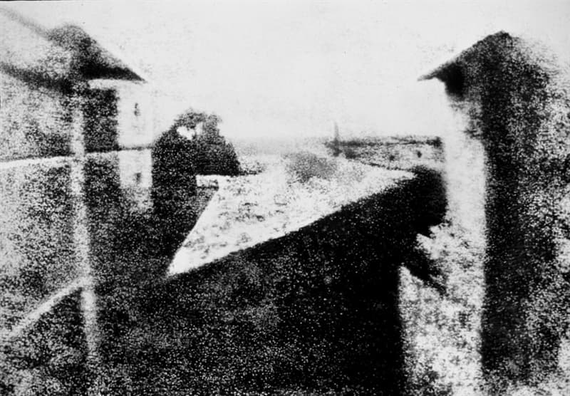 History Story: #7 The first photograph ever taken (circa 1826)