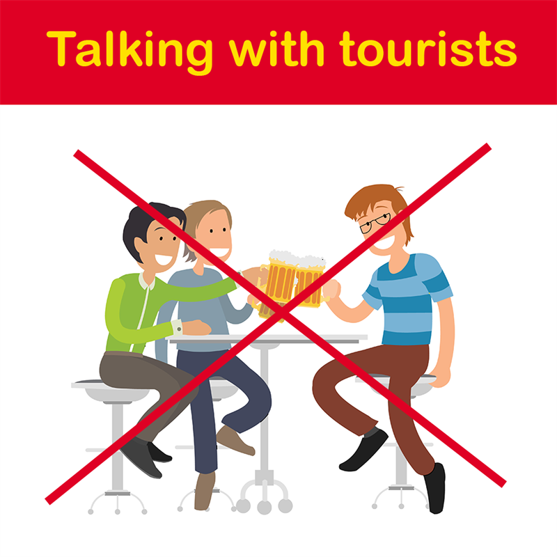 Geography Story: Talking with tourists