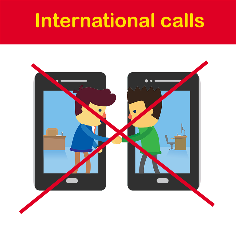 Geography Story: International calls