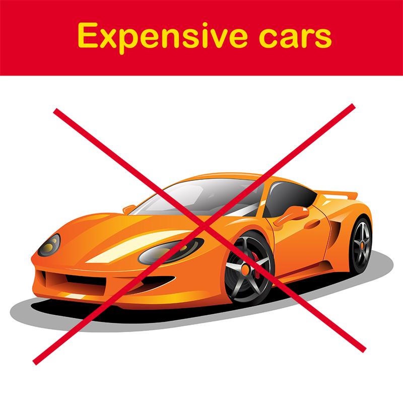 Geography Story: Expensive cars