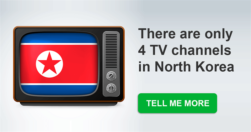 Geography Story: 13 ordinary things that are not legal in North Korea