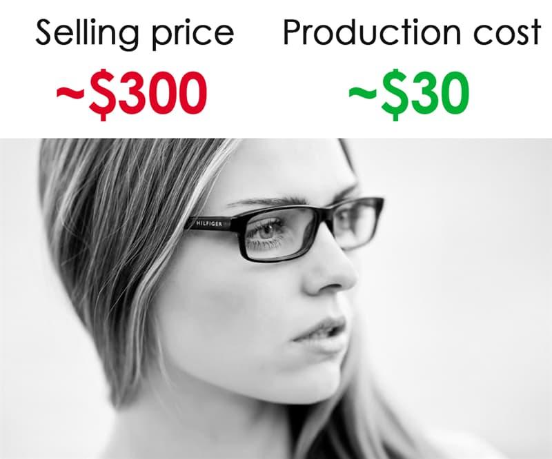 Society Story: #10 Prescription eyeglasses: