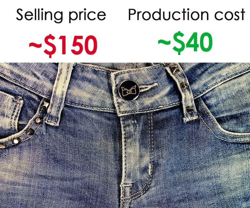 Society Story: #4 Designer jeans:
