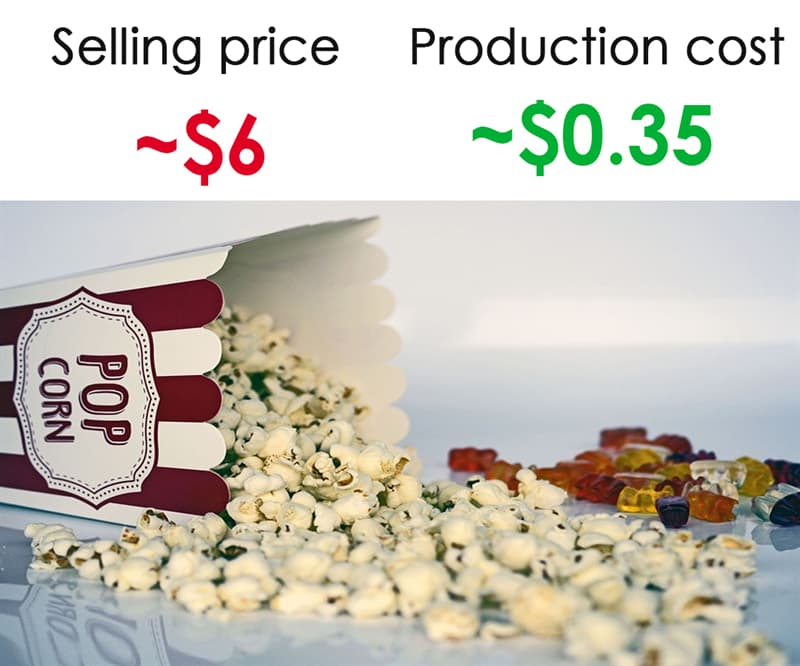 Society Story: #5 Movie theater popcorn: