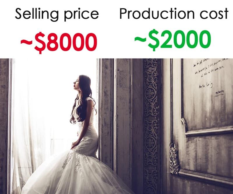 Society Story: #6 Wedding dresses: