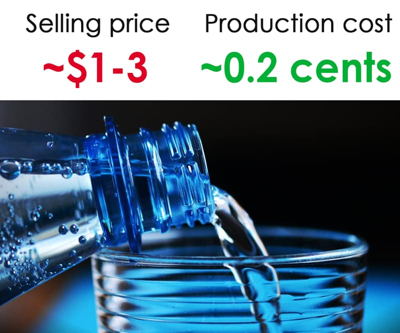 Society Story: #8 Bottled water: