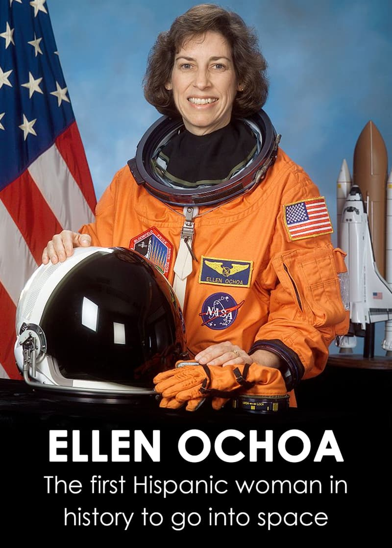 History Story: The first Hispanic woman in history to go into space