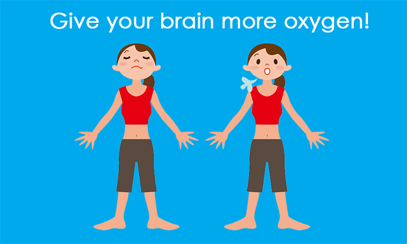 Society Story: Give your brain more oxygen!
