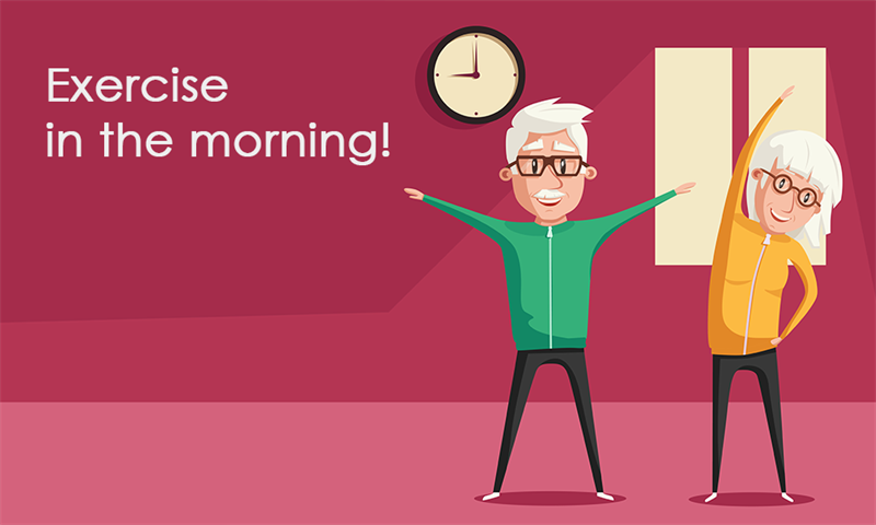 Society Story: #5 Exercise in the morning!