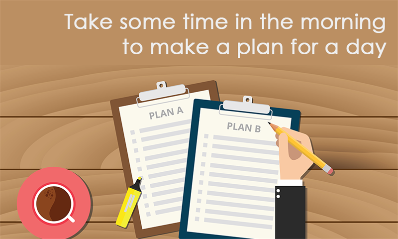 Society Story: Take some time to make a plan for a day
