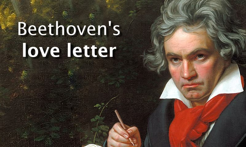 Culture Story: Beethoven's love letter