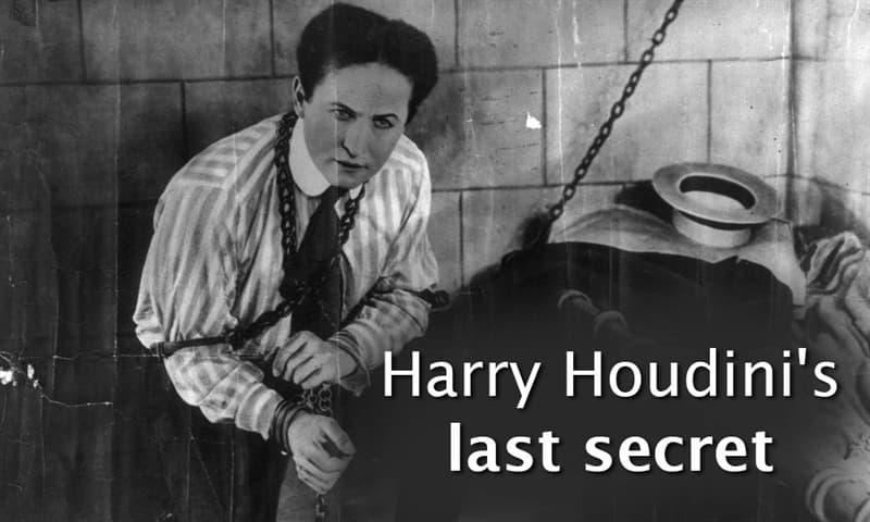 Culture Story: Harry Houdini's last secret