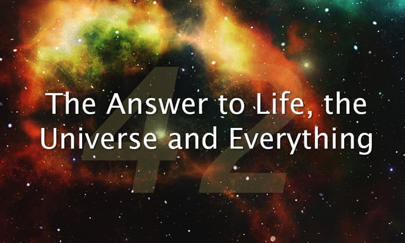 Culture Story: The Answer to Life, the Universe and Everything