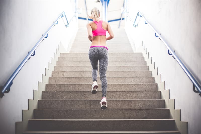 Sport Story: #4 You can easily walk up stairs without being out of breath