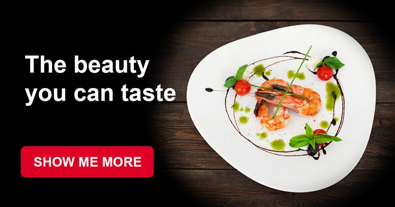 food Story: Haute cuisine meals - real masterpieces that you can taste