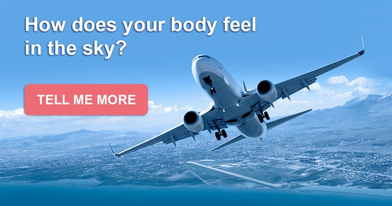 health Story: How does your body feel in the sky?