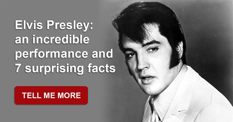 History Story: If you are a true Elvis fan, you must watch this incredible video of his performance