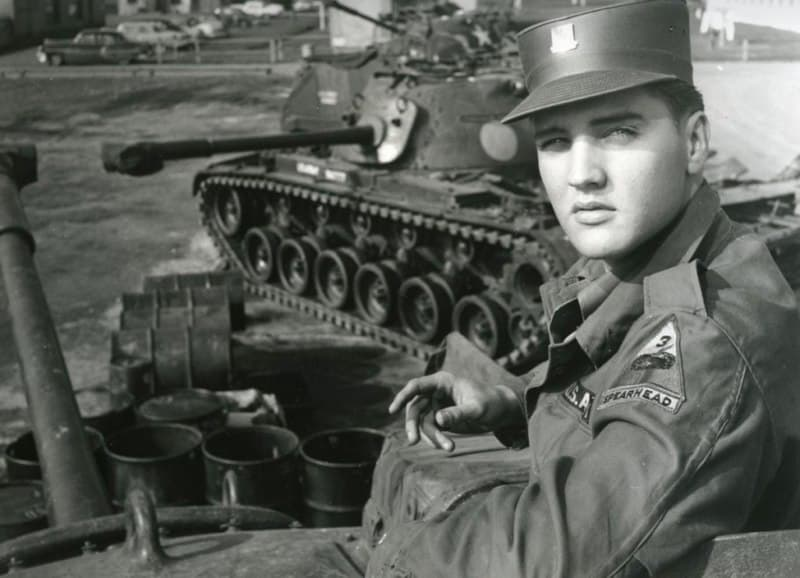 History Story: #1 Elvis Presley in the army (1958)
