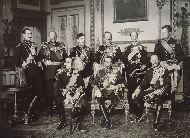 History Story: #6 Nine kings in one picture