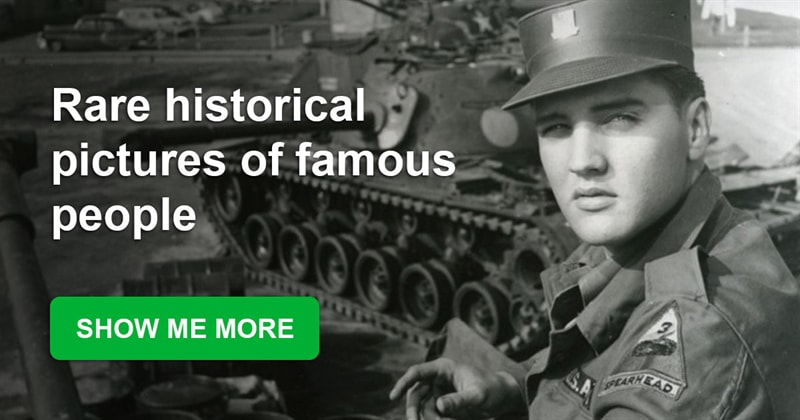 History Story: Rare historical pictures of famous people you haven't seen before