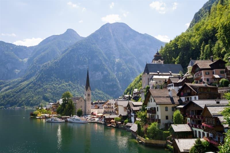 Geography Story: #1 Hallstatt, Austria