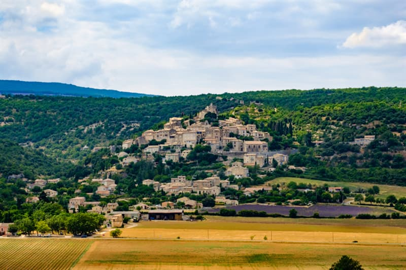 Geography Story: #2 Simiane-La-Rotonde Village in Provence, France