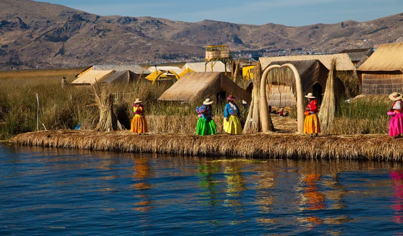 Geography Story: #4 Floating Islands, Bolivia, Peru