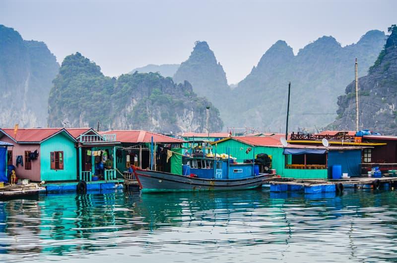 Geography Story: #10 Fishing Village Cua Van, Vietnam