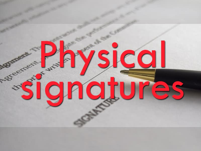Culture Story: Physical signatures