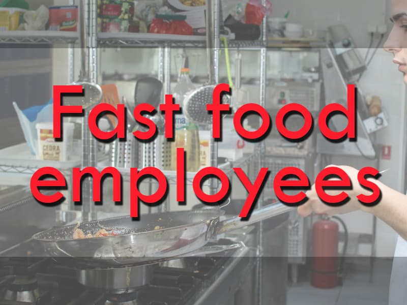 Culture Story: Fast food employees