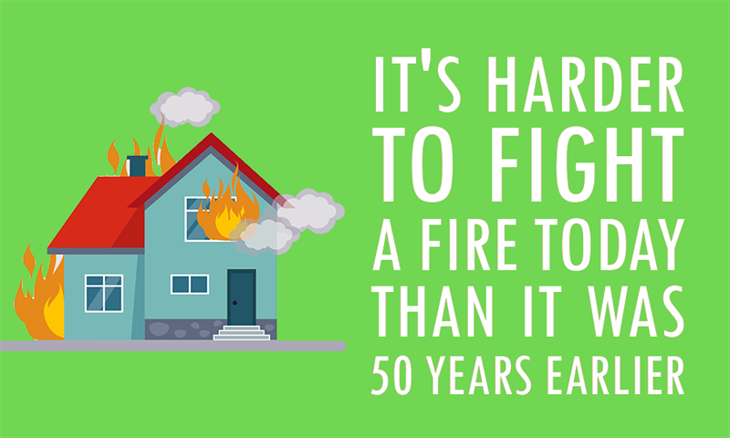 Society Story: It's harder to fight a fire today than it was 50 years earlier