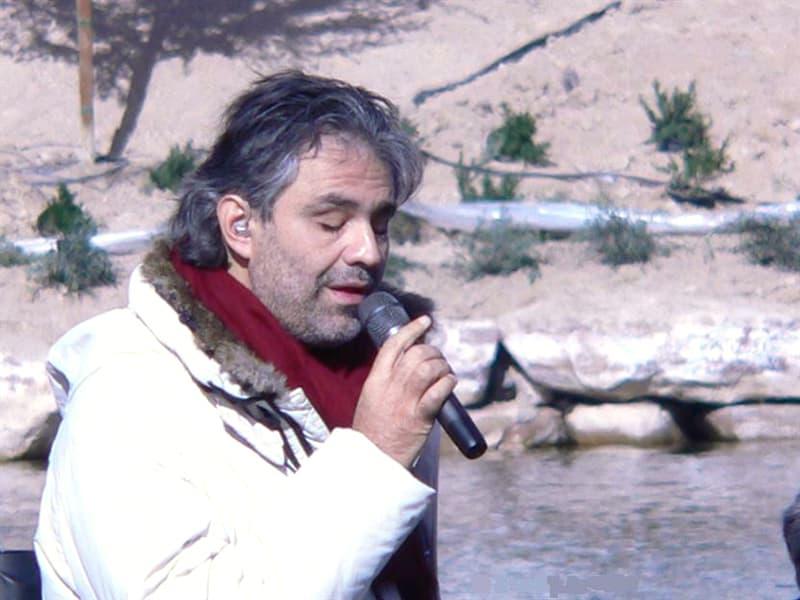 Society Story: #6 Andrea Bocelli