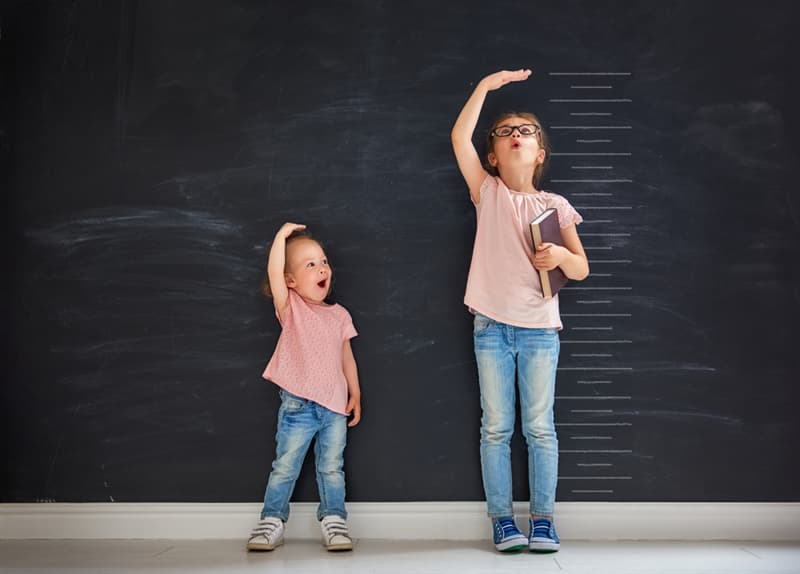 Personality Story: #9 Younger children are shorter than older