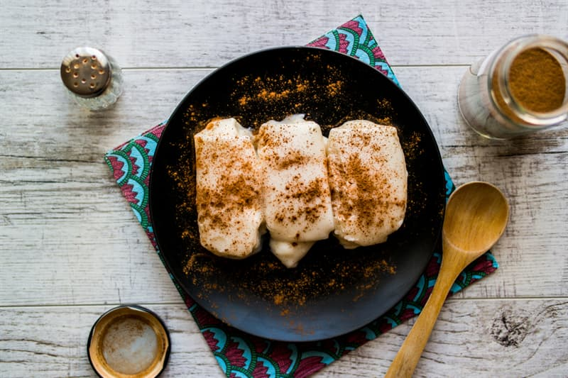 Culture Story: #3 A turkish dessert with chicken breast