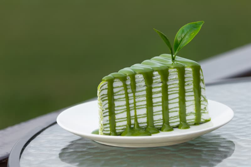 Culture Story: #5 Matcha Mille crepe cake