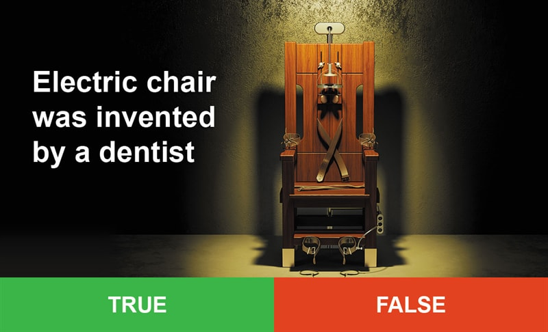 IQ Story: #5 Electric chair was invented by a dentist