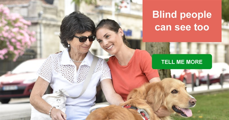 art Story: Find out how blind people see their loved ones in this charming video