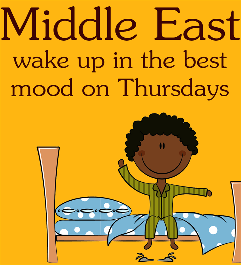 Society Story: Middle East wake up in the best mood on Thursday